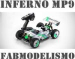 AUTOMODELO KYOSHO INFERNO MP9 TKI3 TIPO 1 READYSET 1/8