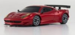 KYOSHO MINI-Z MR-03 SPORTS FERRARI 458 ITA VERM. METALICA