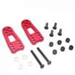 GPM Aluminum Front Rear Adjust. Shock 2 pcs Red For Gmade Sawback / komodo
