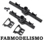 Crawler Vaterra Ascender Blazer Front/Rear Axle Housing & Link Mount Set