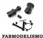 Crawler Vaterra Ascender Blazer k5 Driveshaft Yoke Set