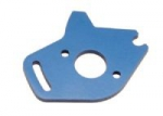 Trax 6890 - Blue-Anodized Aluminum Motor Plate