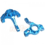 YR SCX10-006BU - FRONT KNUCKLE ARM SET ALUMINIUM BLUE AXIAL SCX10