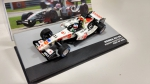 Miniatura Honda RA106 Rubens Barrichello (GP 2006)  1/43 Collection