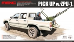 Kit Montar Meng Pick-up com metralhadora ZPU-1 - 1/35