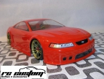 Bolha Ford Mustang Saleen 1/10 Transparente