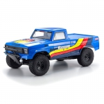 Automodelo Elétrico Kyosho Outlaw Rampage 1/10 2WD Azul Rtr completo