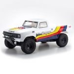 Automodelo Elétrico Kyosho Outlaw Rampage 1/10 2WD Branco Rtr completo