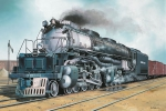 Kit Revell Locomotiva Big Boy - 1/87