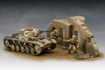 Kit Revell Tanque Panzer II Ausf. F - 1/76