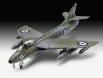 Kit de Montar Revell British Legends - Hawker Hunter FGA.9 - 1/72 - NOVIDADE!