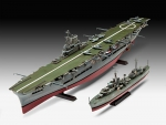 Kit Revell HMS Ark Royal & Tribal Class Destroyer - 1/720 - NOVIDADE!