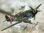 Kit Revell Model Set Messerschmitt Bf-109 - 1/72