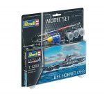 Kit Revell Model Set USS Hornet CV-8 - 1/1200