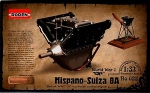 Kit Montar Roden Motor Hispano Suiza 8A 150 h.p. - 1/32