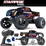 Automodelo Traxxas Stampede Vxl 1/10 Rtr Brushless Tqi Tsm 36076-3