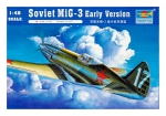 Kit Montar Trumpeter Mig-3 Soviet Early Version 1/48