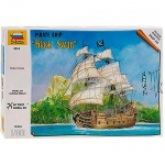 KIt ZVezda Pirate ship Black Swan (Cisne Negro) - 1/350 - NOVIDADE!