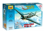 Kit Zvezda WWII Focke-Wulf german fighter - 1/72 - NOVIDADE!